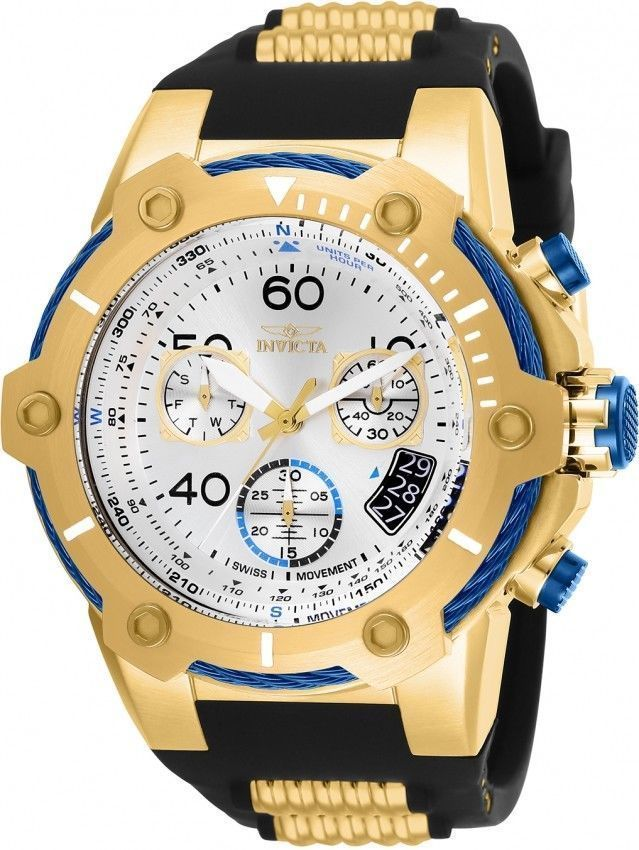 Primary image for Invicta  Bolt Swiss Quartz Chronograph Reserve Limited Gold tonel NEW $1095
