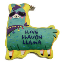 Nanco Llama Pillow Plush Stuffed Animal Toy Llive Llaugh No Prob Double ... - $29.69