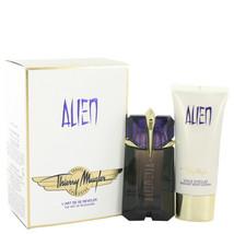 Thierry Mugler Alien 2.0 Oz EDP Spray + Body Lotion 3.4 Oz 2 Pcs Gift Set image 2