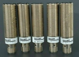 LOT OF 5 BALLUFF BLE-18M-PS-1P-E5-C-S4 RECEIVERS 551666, BLE18MPS1PE5CS4, 10-30