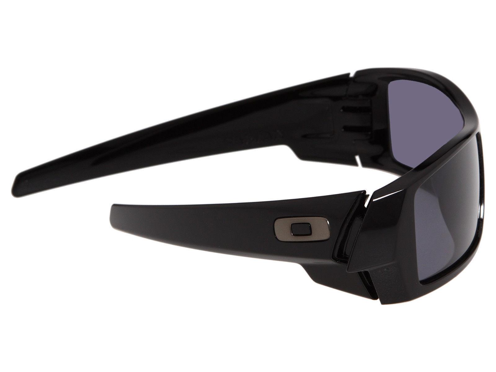 New Oakley Gascan Polished Black w/Grey 03-471