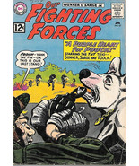 Our Fighting Forces Comic Book #67 Gunner and Sarge DC Comics 1962 VG/VE... - $22.64
