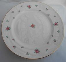 Homer Laughlin Rambler Rose 4 BREAD/BUTTER Plates Dessert - $21.87