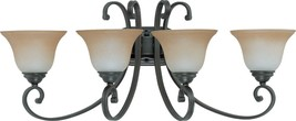 "Montgomery ORB Bronze Wall Light Glass Shades 31""Wx13""H - $229.99"