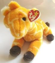 """NEARLY NEW Ty Beanie Buddies """"Twigs"""" Giraffe Stuffed Animal Toy (Retired 1998) - $16.33"""