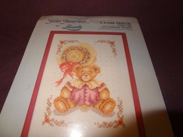 Victorian Teddy  Cross Stitch Kit Frame Your Favorites Janlynn Flowers 3... - $12.86