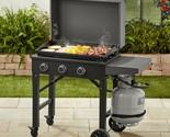 Gas Griddle Outdoor Grill Cooking BBQ Portable Propane Flat Cook Top Burner 28in
