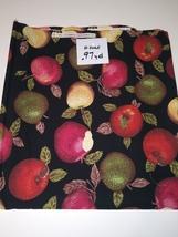 Apples, Hi Fashion Fabrics, 0.97 yd. (E2065) - $1.94