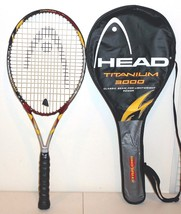 Head Titanium 3000 Oversize Tennis Racquet & Case Grip 4 5/8 - $53.89
