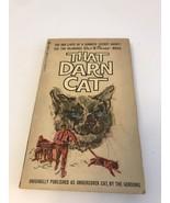 WALT DISNEY 1965 THAT DARN CAT BY THE GORDONS - $9.50