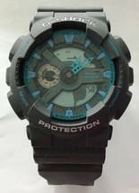 Casio G Shock GA110TS-8 Quartz Grey Blue 51.2mm 200 Meters  DEFECTIVE - $47.45
