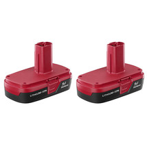 Craftsman C3 19.2 Volt Compact Lithium-Ion Battery 2 Pack - REAL CRAFTSMAN - $105.17