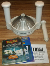 Great American Steakhouse Blooming Onion Machine/In Box With Book - £17.67 GBP