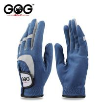 GOG 1pcs golf gloves fabric blue glove left right hand for golfer breath... - $16.99