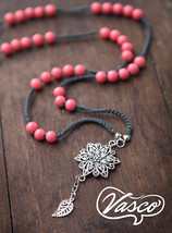 Long Pink Bohemian Necklace - $23.00