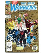 The New Warriors #1 1990- Second Printing- Night Thrasher- NM- - $18.92