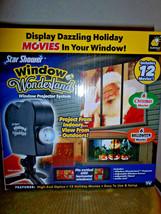 New Star Shower Window Wonderland Projector - 6 Halloween/6 Christmas Mo... - €51,28 EUR