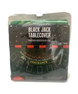 Amscan Blackjack Tablecover, 6ft Green Felt  NEW in package  - $19.79