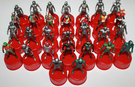 Masked Rider Kamen Bottle Cap Figure Set of 30 Seven Eleven 2002 Series Bandai - $69.62