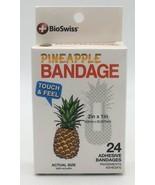 Bio Swiss Kids Pineapple Adhesive Bandages Box of 24 Sterile - $4.95