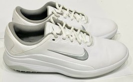 Nike Golf Vapor Women Golf Shoe Size 8.5 AQ2324-100 White Metallic Silver - $34.99