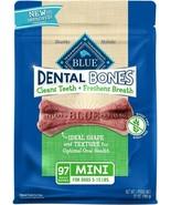 Blue Buffalo Dental Bones Natural Adult Dental Chew Dog Treat  Mini 27-o... - £11.99 GBP+