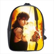 School bag 3 sizes bookbag hot shots funny sheen chicken - $39.00+