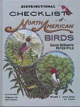 Distributional Checklist of North American Birds/Vol. 1 Desante, David and Pyle, image 1