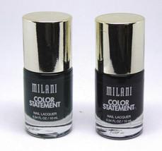 Lot Of 2 Milani Color Statement Nail Lacquer No.501 & 503 0.34 fl.oz/10ml - $8.42
