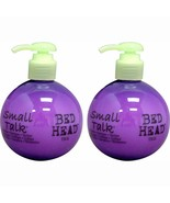 2x TIGI BED HEAD SMALL TALK Thickifier HAIR STYLER CREAM 200ml / 8 OZ Fr... - $36.48