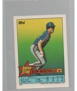 Kevin McReynolds - OF - Super Star Baseball Card #51 - Topps Company - 1... - $0.97