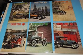 The Vintage Ford Magazine 1978 Model T Club of America COMPLETE YEAR Lot  6 ea - $19.39