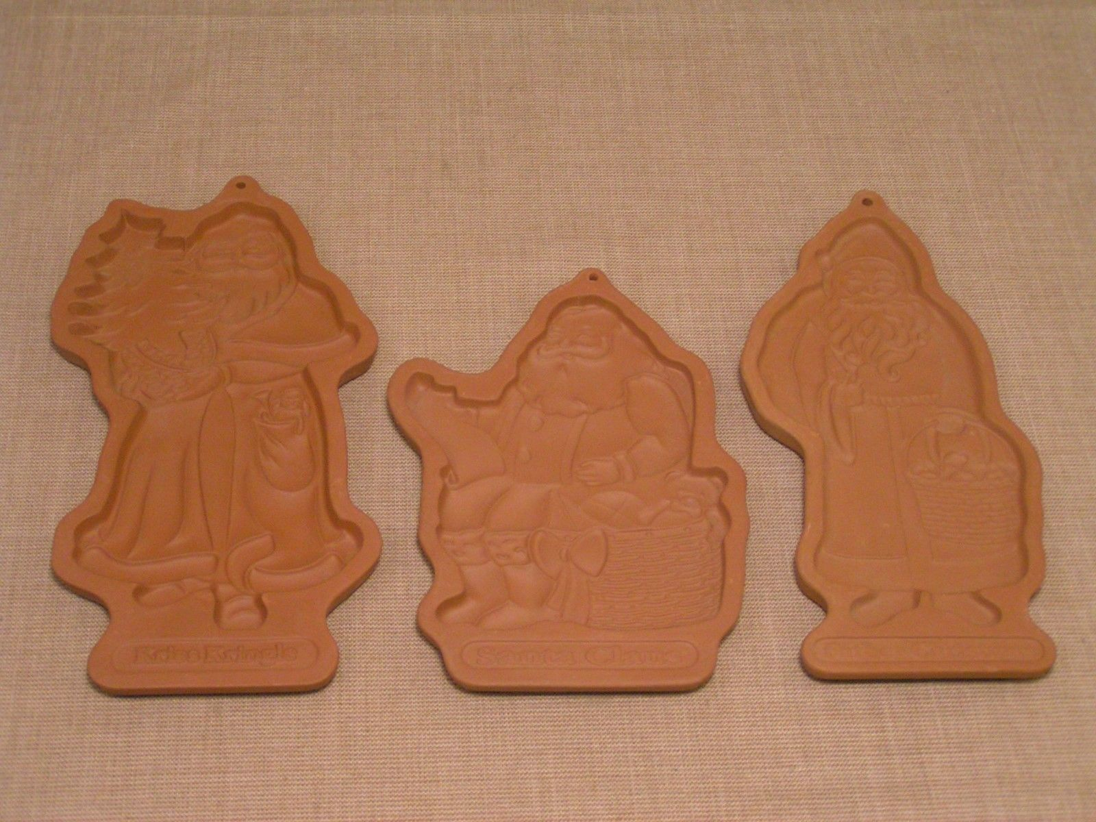 3 Longaberger Pottery Cookie Molds Father And 19 Similar Items