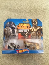 New 2014 Hot wheels Star Wars R2-D2 And C3PO - $12.86