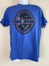 Delta Men Size M Blue San Diego Old School T Shirt - $10.26