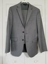 Jos A Bank Men's Slim Fit Sharkskin  Traveler Collection Suit Size 38 L... - $93.50
