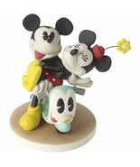 Mickey Mouse Minnie Precious Moments Love Can Take Us Anywhere Scooter NWOB  - $50.48