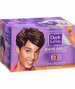 Dark and Lovely Healthy Gloss 5 Shea Moisture No-Lye Relaxer Color Treat... - $12.82