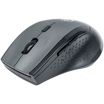 Manhattan Curve Wireless Optical Mouse (gray And Black) ICI179379 - $22.98