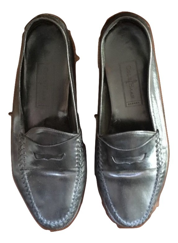 da8836e0c0a Img 4311640410 1501379960. Img 4311640410 1501379960. Previous. Cole Haan  Resort Men s Black Leather Slip On Penny Loafers SZ 8 M
