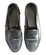 Cole Haan Resort Men's Black Leather Slip On Penny Loafers SZ 8 M - $34.64