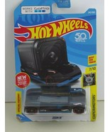 2018 Hot Wheels ZOOM IN works with GoPro Experimotors 7/10  BLACK - $3.81