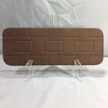 Longaberger Bread Basket Bricks Warmer Heritage Stoneware Made in USA - $12.19