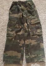 Children's Place Pants Boys Sz 4 Camouflage Cargo Pocket Stretch Elastic... - $18.09