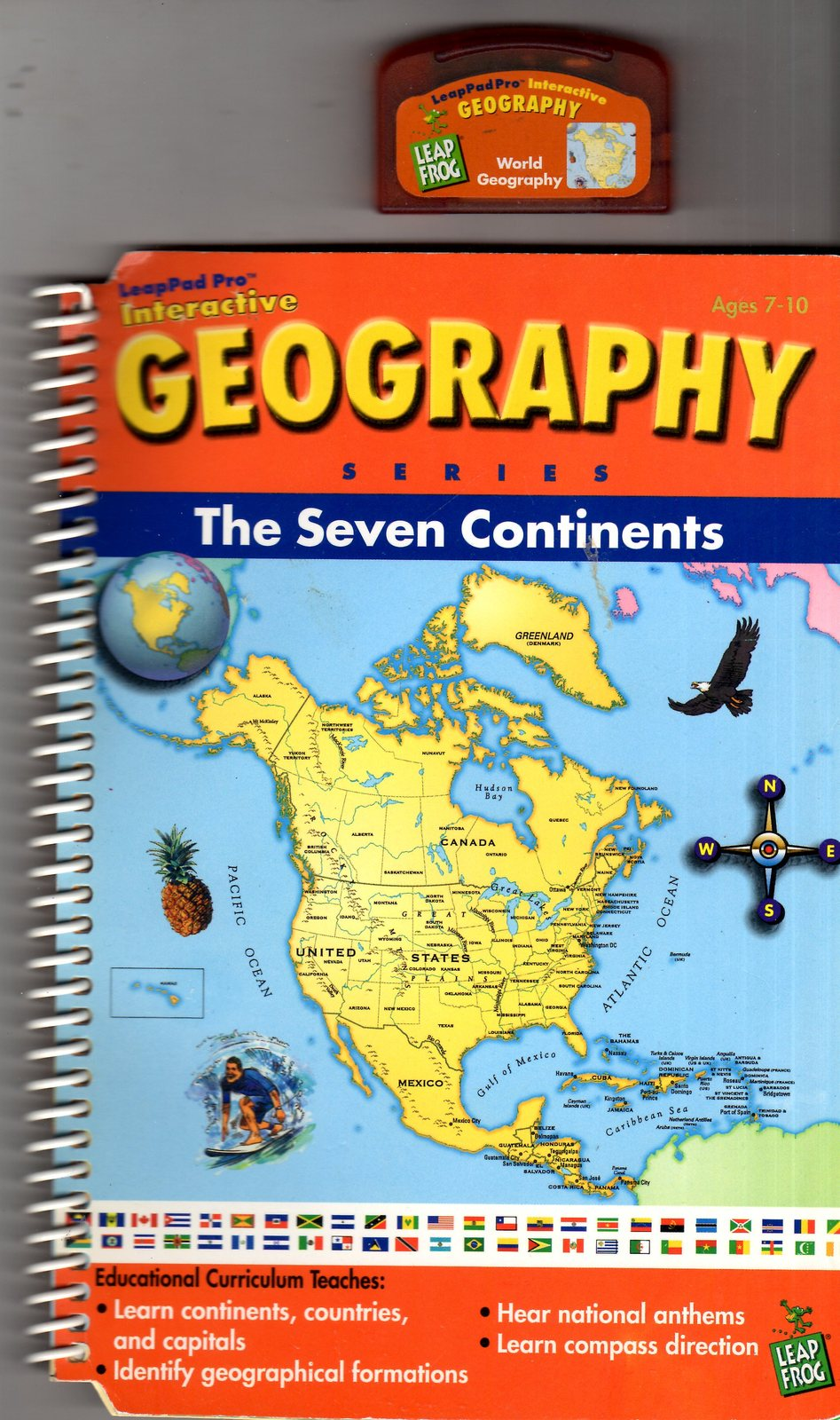 "LeapFrog  - Interactive Geography Series  ""The Seven Continents"""