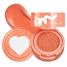 I'M MEME I'M Heart Stamp Blusher 002 Crush on Coral  NEW IN BOX - $14.95