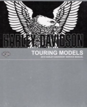 2019 Harley Davidson Touring Models Repair Workshop Service Shop Manual NEW - $197.95