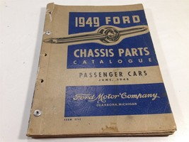 1949 Ford Passenger Car Chassis Parts Catalogue 3752 - $39.99
