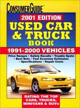 2001 Used Car & Truck Book (Consumer Guide Used Car & Truck Book) Consum... - $14.25