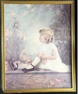Vintage Print Song Of The Lark Songbird Florence Lindsey 16 X 20 HOUSE O... - $80.77